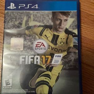 PS 4 FIFA 17 game